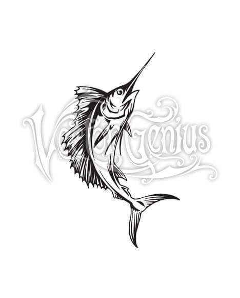 Marlin Florida Fish Clip Art.