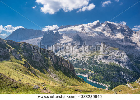 Marmolada Mountain Range Punta Penia Punta Stock Photo 333229949.