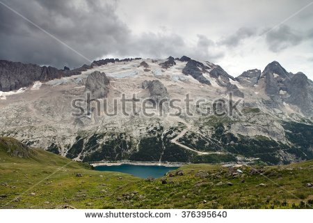 Mount Marmolada Stock Photos, Royalty.