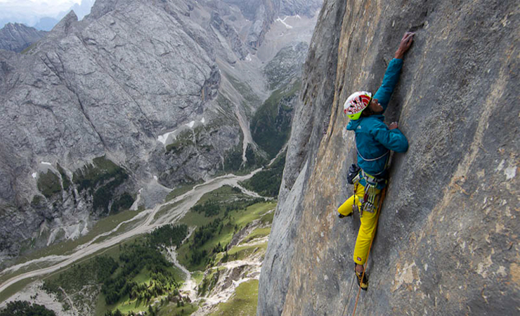 My Marmolada by Hansjorg Auer(Rock Climber).