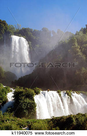 Stock Image of Falls Marmore.