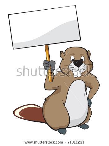 Beaver Cartoon Stock Images, Royalty.