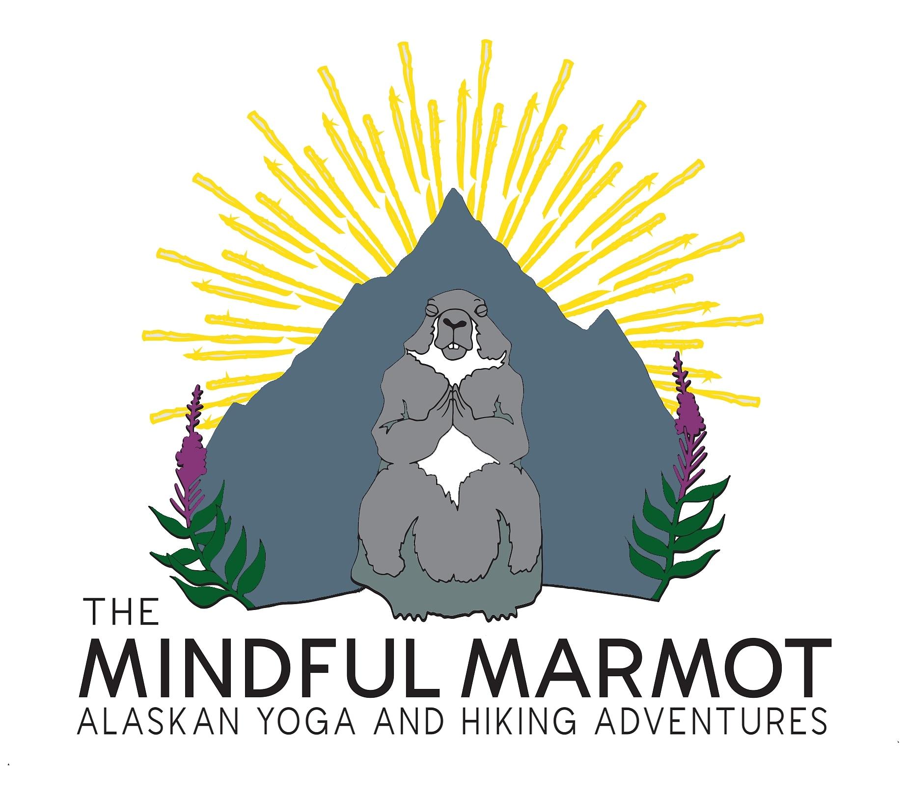Mindful Marmot Logo • Visit Seward Alaska.