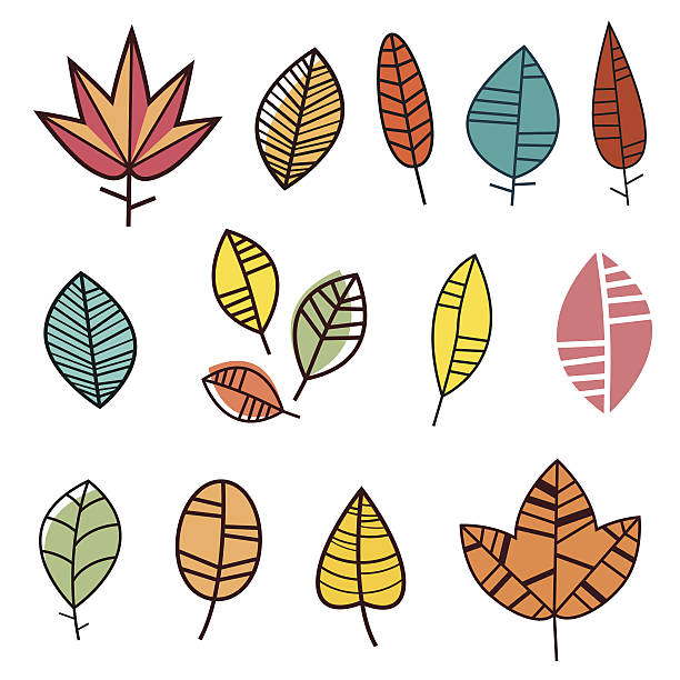 Maroon Leaves Clip Art, Vector Images & Illustrations.