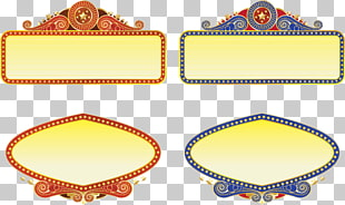 Marquee Cinema Theatre graphics, Border islamic PNG clipart.