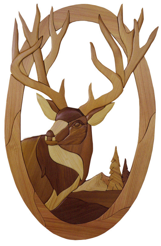 1000+ images about inarsia deer on Pinterest.
