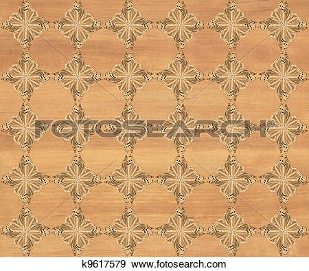Stock Illustration of Faux Wood Marquetry #26 k9617579.