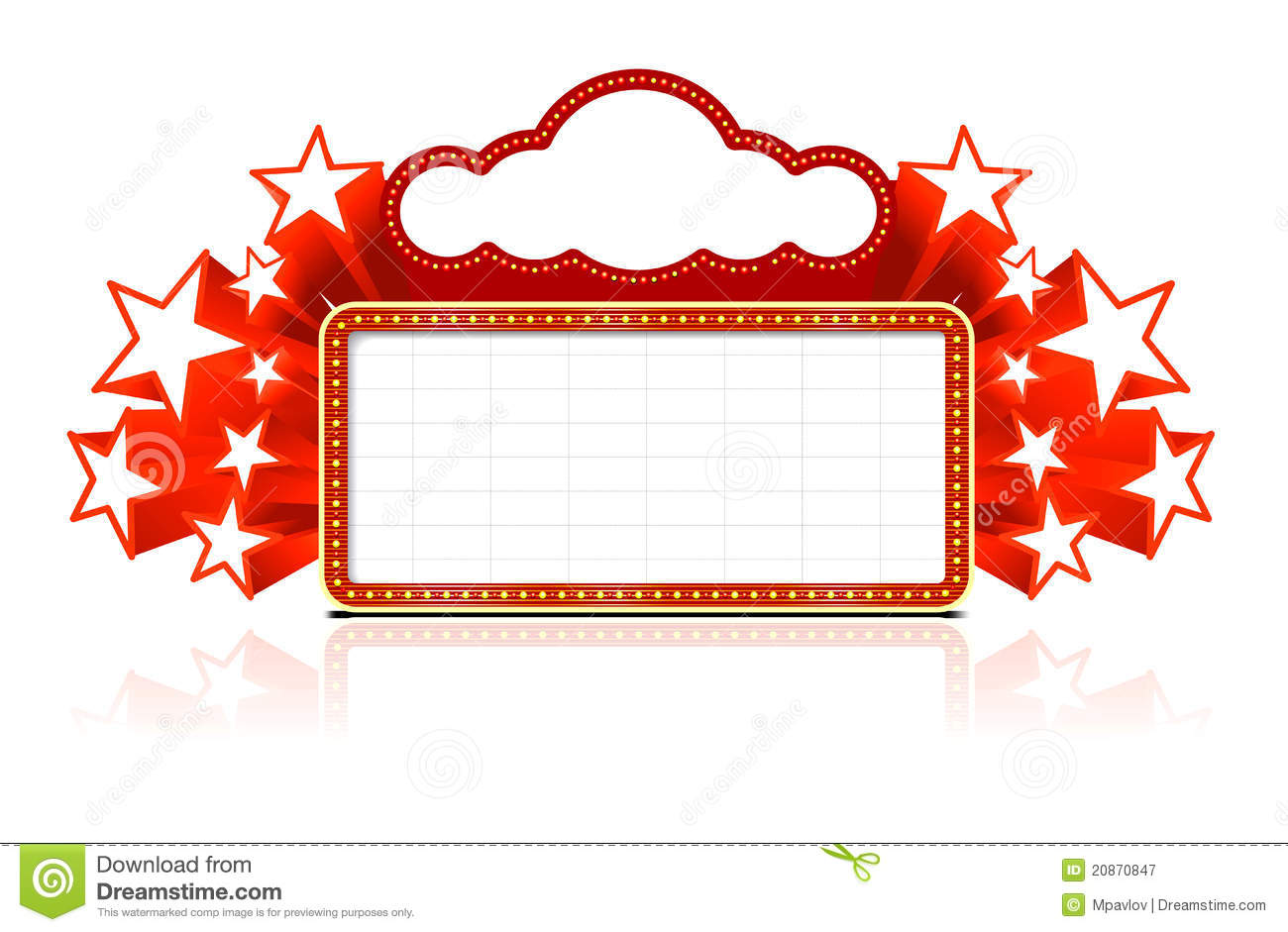 Marquee Border Clipart.