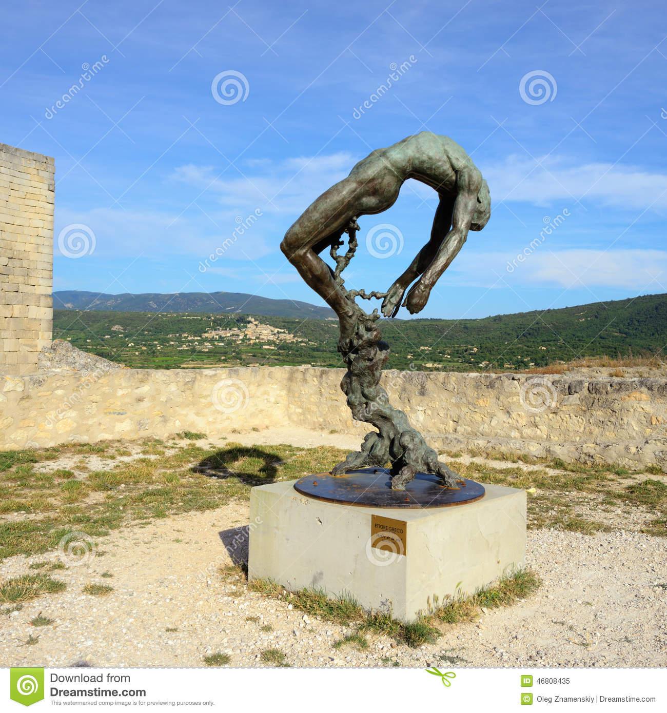 Sculpture Of The Marquis De Sade Editorial Image.