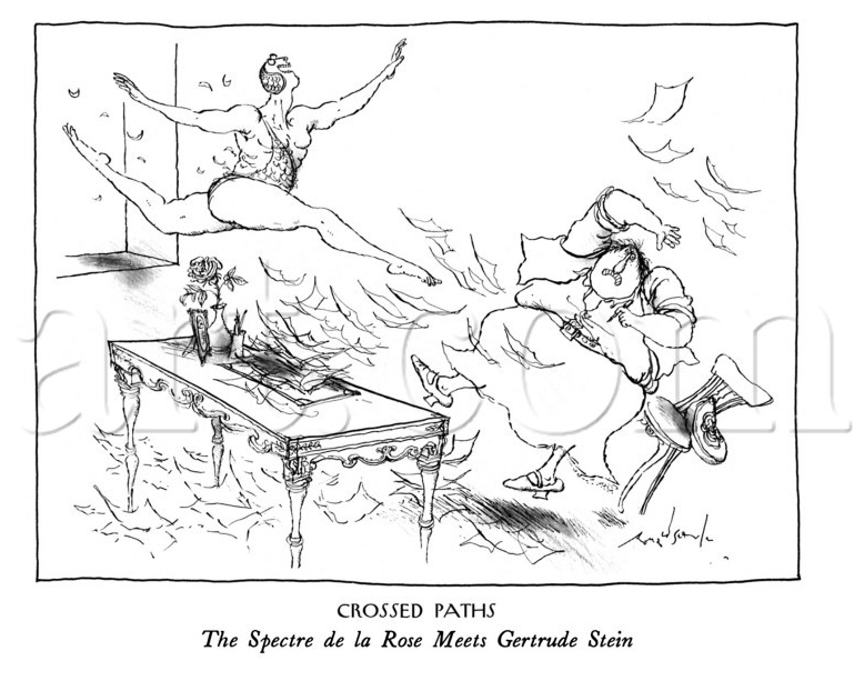 Ronald Searle Tribute: New Yorker cartoons.