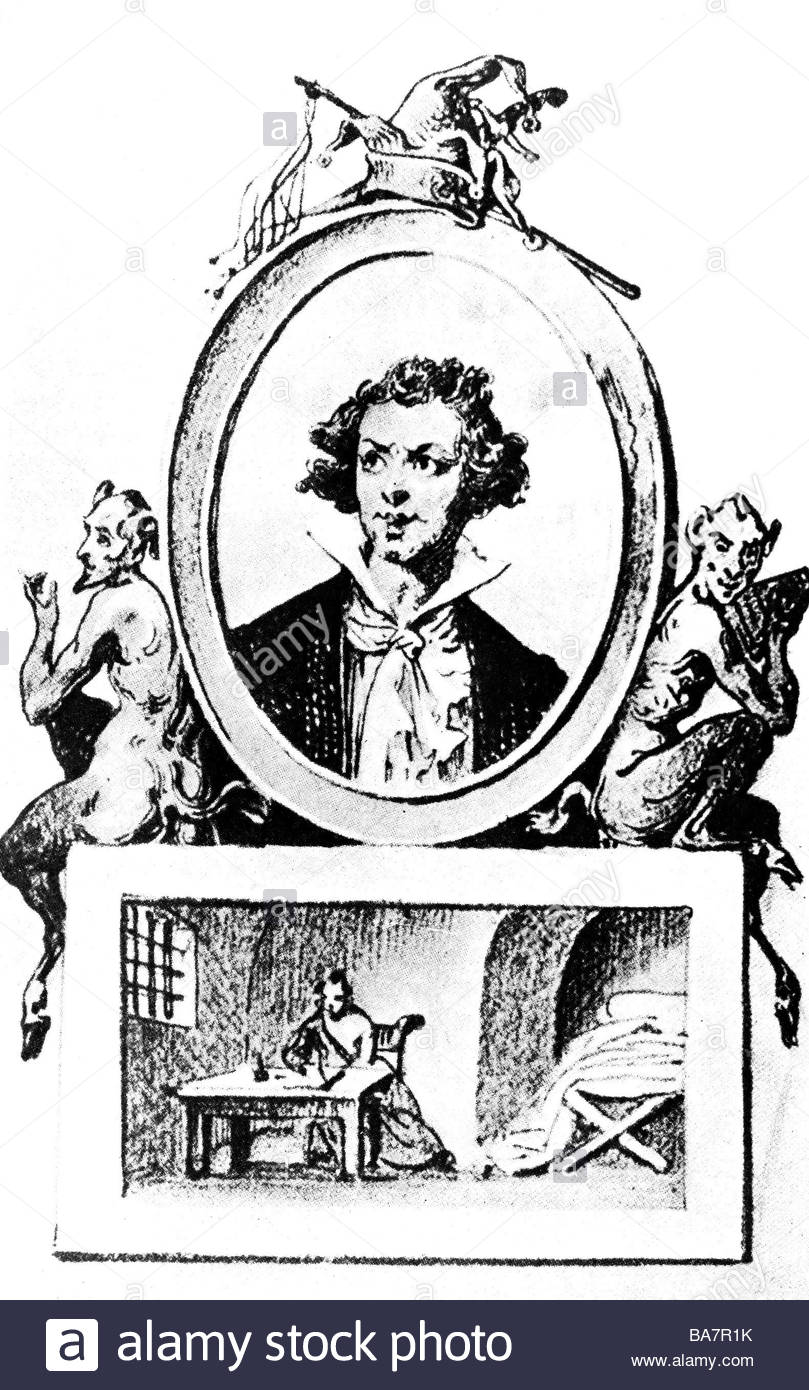 Sade, Donatien Alphonse Marquis De, 2.6.1740.