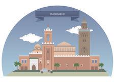 Marrakech Stock Illustrations.