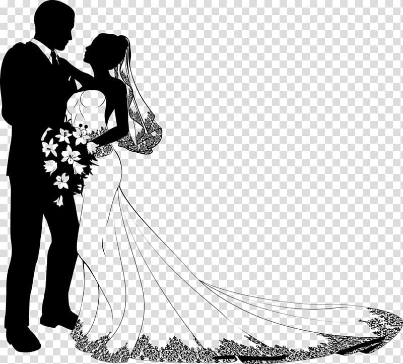 Wedding invitation Bridegroom , Just Married transparent.