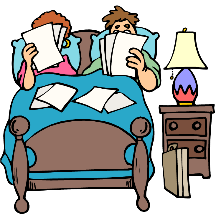 Making Bed Clipart.