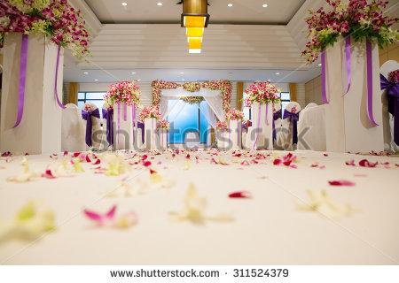 Indoor Wedding Ceremonies Stock Photos, Royalty.
