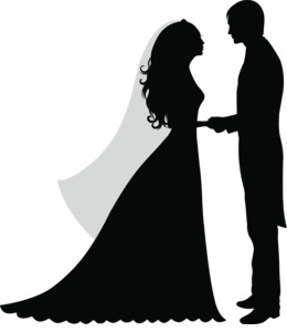 Marriage clipart.