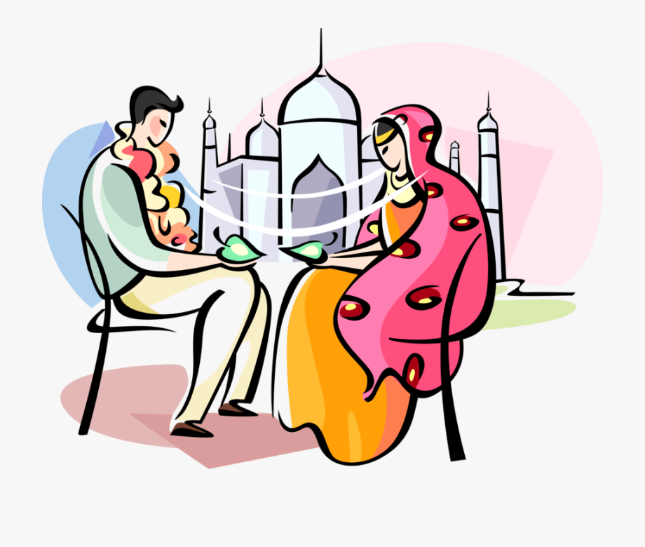 Bengali Marriage Clipart Png.