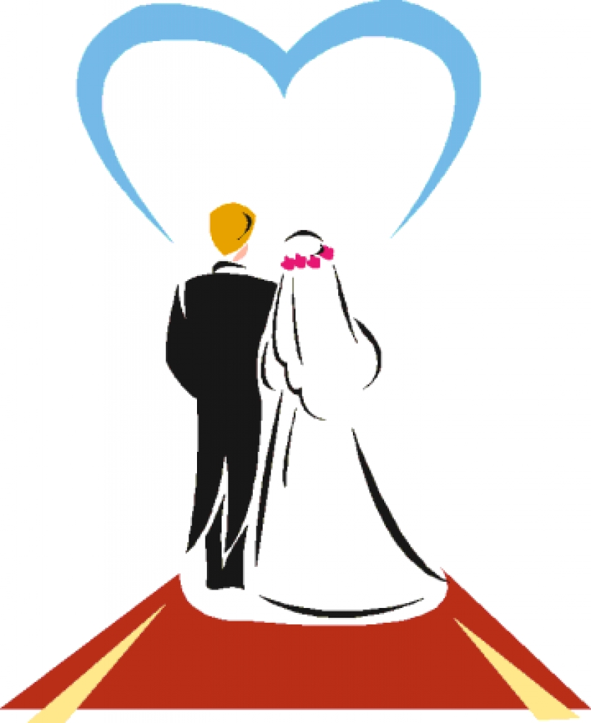 Christian Marriage Clipart Images.