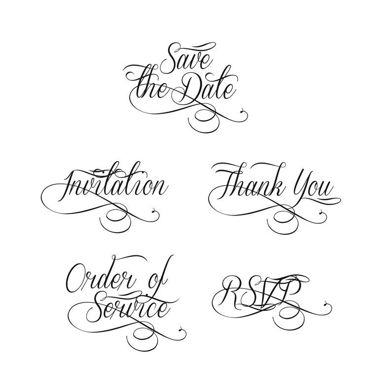 Clipart For Wedding Invitation.