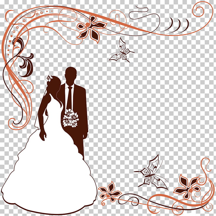 Wedding invitation , Wedding border material, wedding.