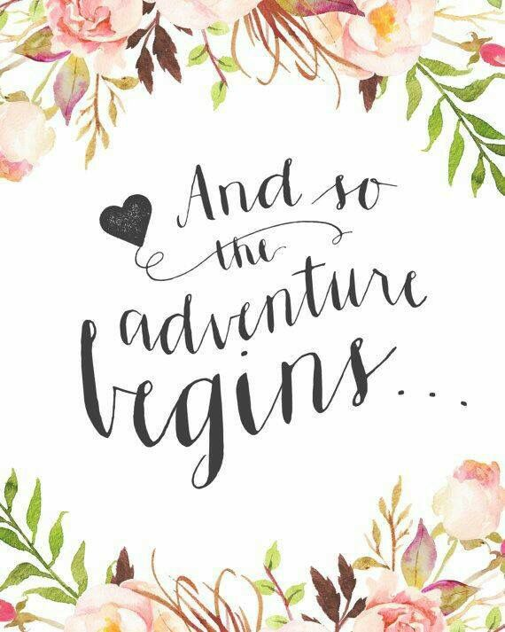 New beginnings ….