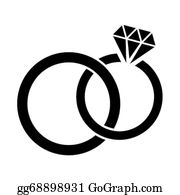 Wedding Rings Clip Art.