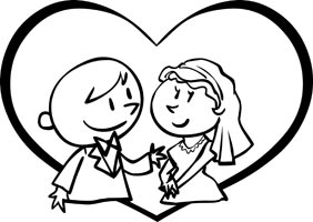 Married clipart free.