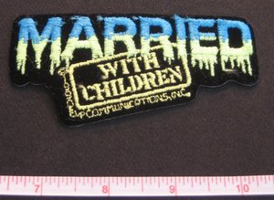 Married with Children logo patch.