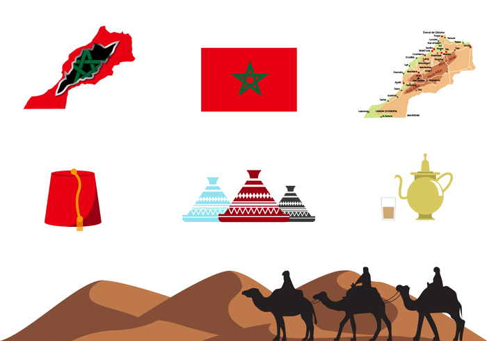 Free Maroc Vector.