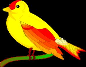 Yellow Bird Clip Art at Clker.com.