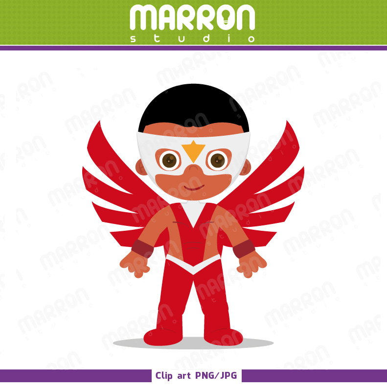 Marron studio clipart.
