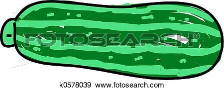 Stock Illustration of marrow k0578039.