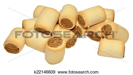 Stock Photograph of Marrowbone Filled Dog Biscuits k22146609.