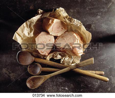 Stock Photo of Beef marrowbone 013734.
