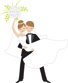 Getting Married Clip Art.