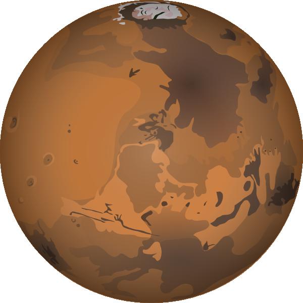 Mars Clip Art at Clker.com.