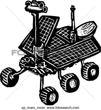 Mars Rover Clipart