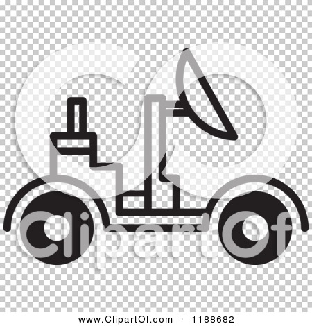 Space rover clipart.