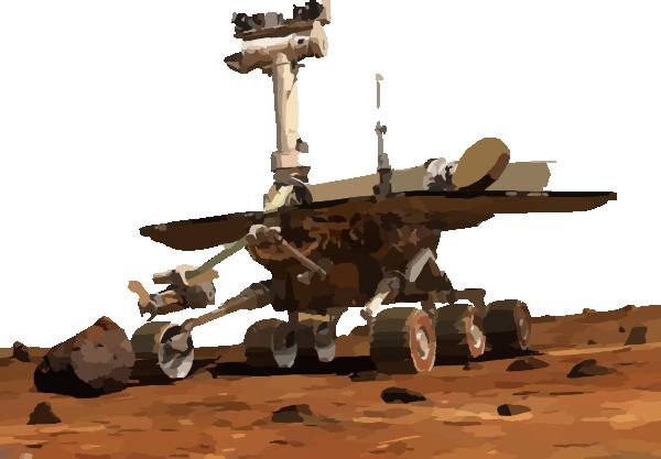Mars Rover Clip Art at Clker.com.