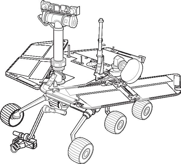 Mars Exploration Rover clip art Free Vector / 4Vector.