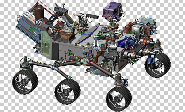 Mars 2020 Mars Exploration Rover Curiosity Mars Rover PNG.