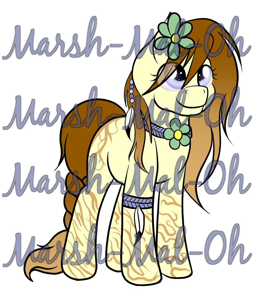 Nature/Druid/Hippie Pony OTA ..::CLOSED::.. by Marsh.