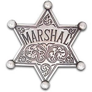 Marshall Badge Clipart.