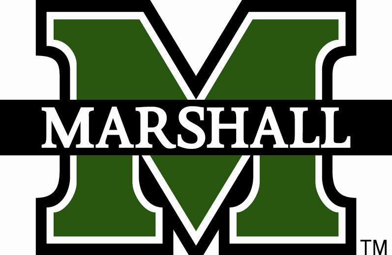 Marshall thundering herd clipart.
