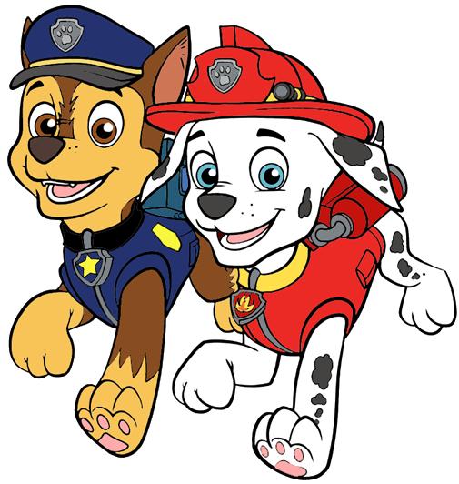 Paw Patrol Clip Art Images.