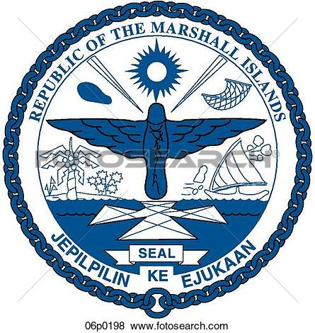 Clip Art of marshall islands 06p0198.