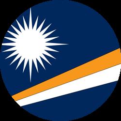 Marshall Islands Flag Clipart.