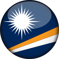 Marshall Islands Flag Clipart.
