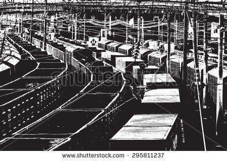 Marshalling Yard Stock Photos, Royalty.