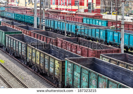 Train Yard Stock Photos, Royalty.